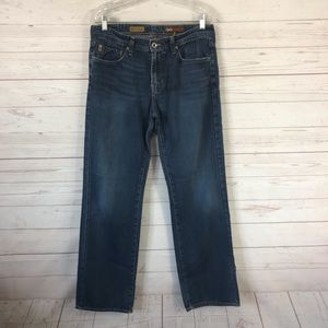 AG The Protege Straight Leg Blue Jeans 32x32